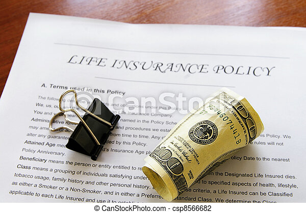 rolled up cash on life insurance policy - csp8566682