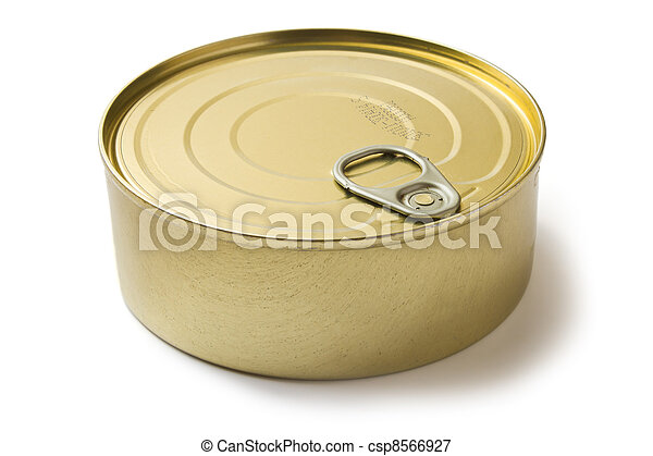 tin can with preserves - csp8566927