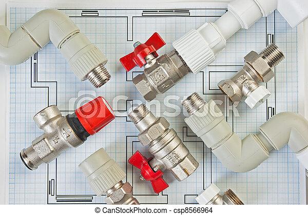Plumbing fixtures - csp8566964