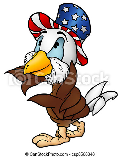 Eagle Patriot - csp8568348