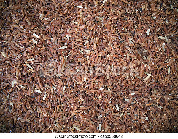 Red rice is highly nutritious - csp8568642