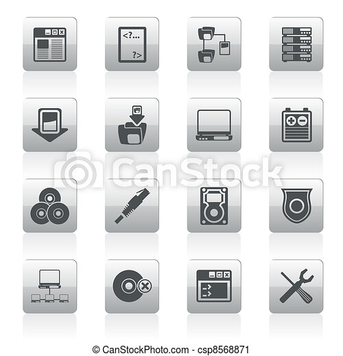 Server Side Computer icons - csp8568871