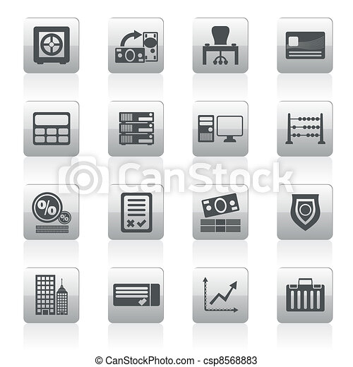 bank, business, finance and office  - csp8568883