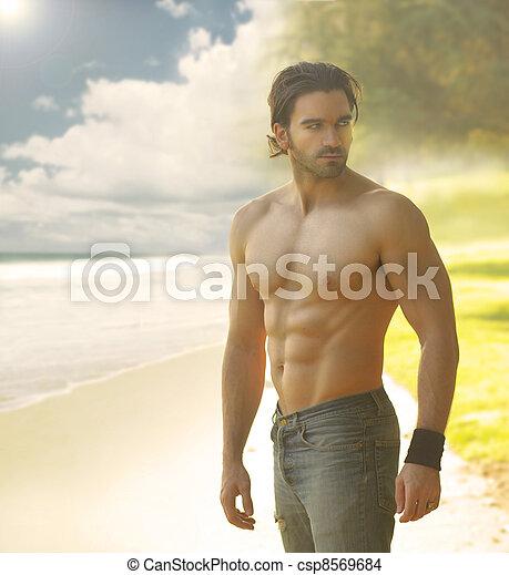 Sexy man - csp8569684