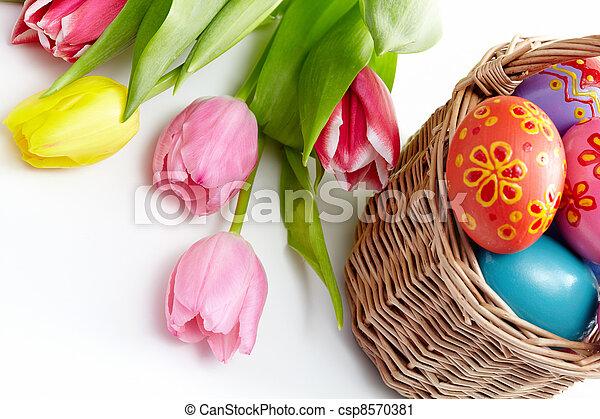Happy Easter! - csp8570381