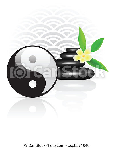 Feng Shui background - csp8571040