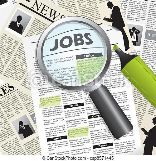 Seeking for a job - csp8571445