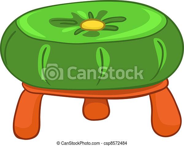 Cartoon Home Furniture Chair - csp8572484