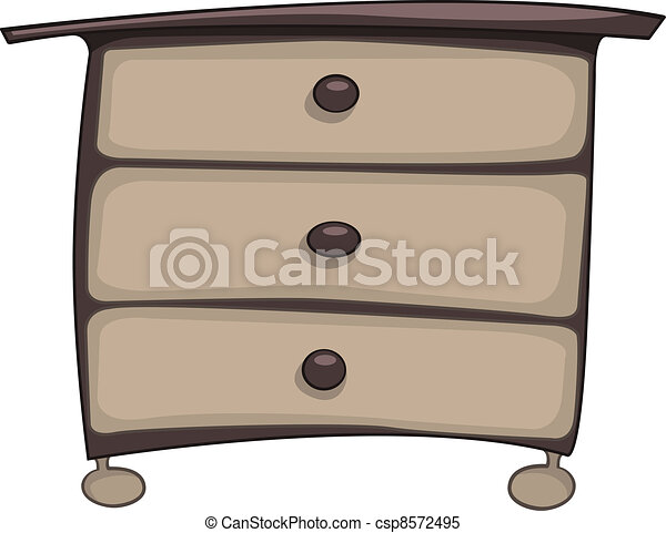 Cartoon Home Furniture Chest of Drawers - csp8572495