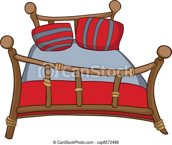 Cartoon Home Furniture Bed - csp8572496