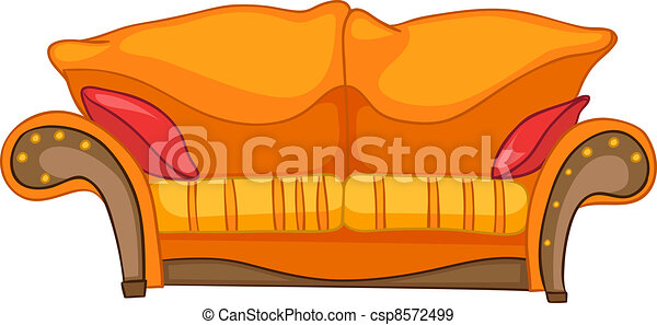 Cartoon Home Furniture Sofa - csp8572499