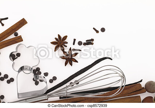 Sweet food ingredients - csp8572939