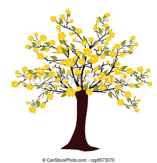 Flourish tree - csp8573070