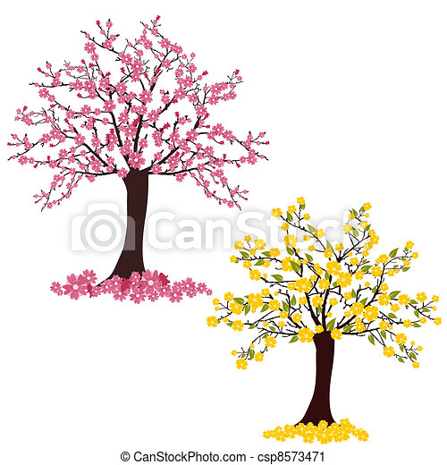 Flourish trees - csp8573471