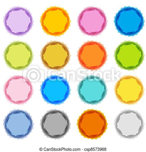 Pastel Fuzzy Starburst Set - csp8573968