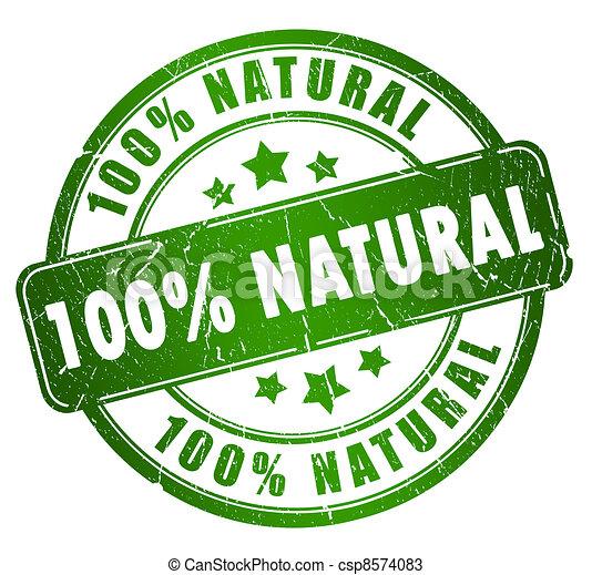 Natural stamp - csp8574083