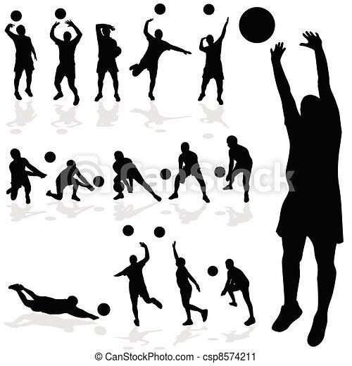 バレーボールの画像 p1_24