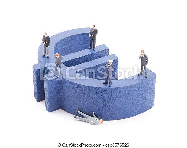 European economic crisis - csp8576526
