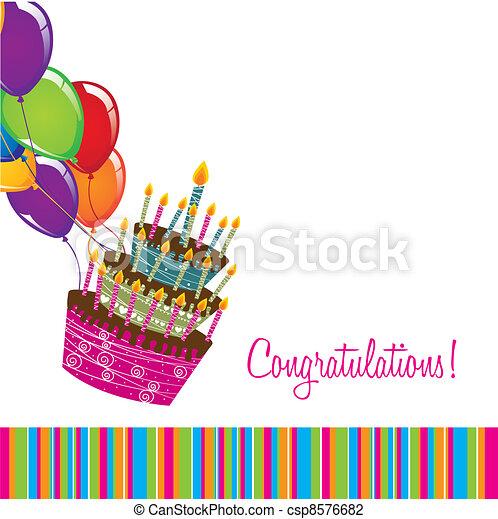 congratulations - csp8576682