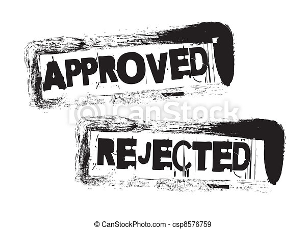 approved and rejected - csp8576759