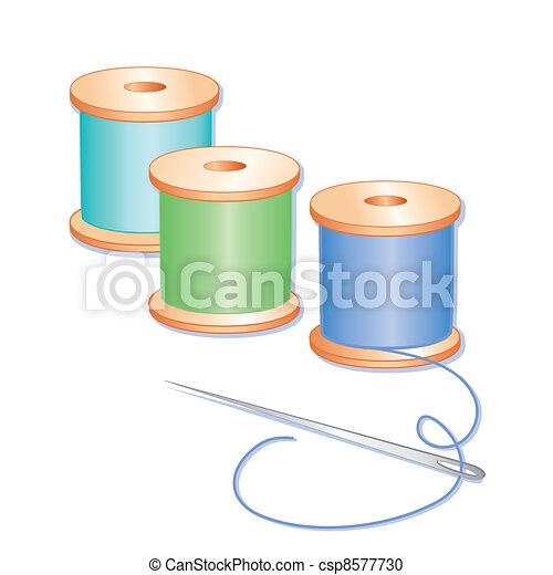 Needle and Threads - csp8577730