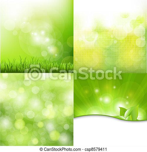 Nature Background Set - csp8579411