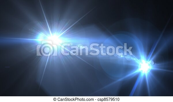 camera flash flare 03 - csp8579510