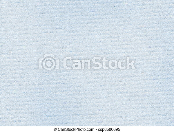 Highly detailed closeup of rough vintage paper texture, light blue - csp8580695