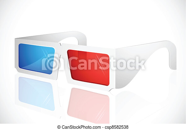 3d Glasses - csp8582538