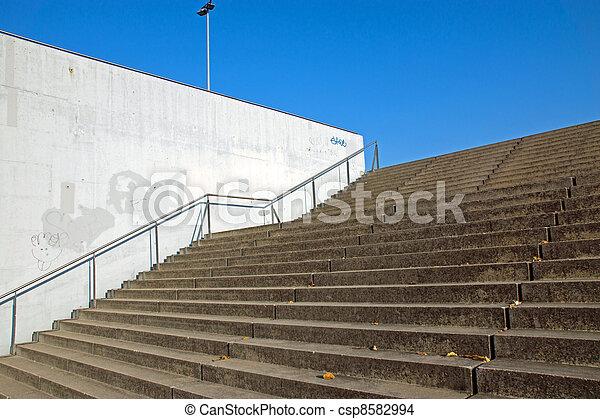 Access to a big sports venue - csp8582994