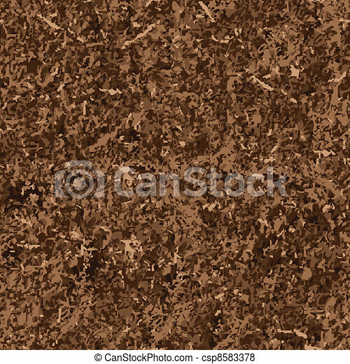 seamless background of soil textures  - csp8583378