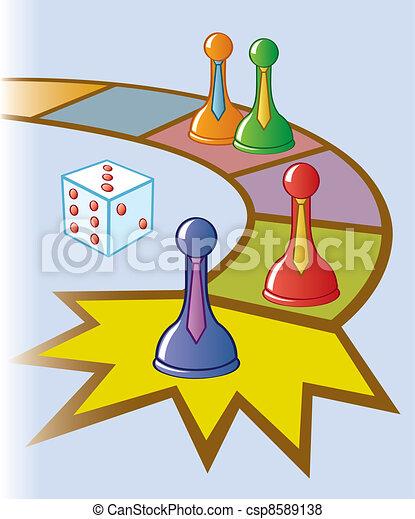 Board Game Clip Art