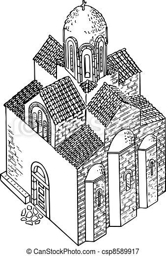 Church - csp8589917