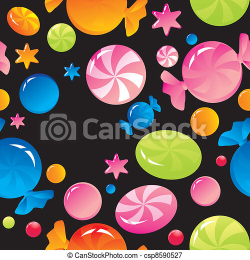 sweets and sugar candies - csp8590527