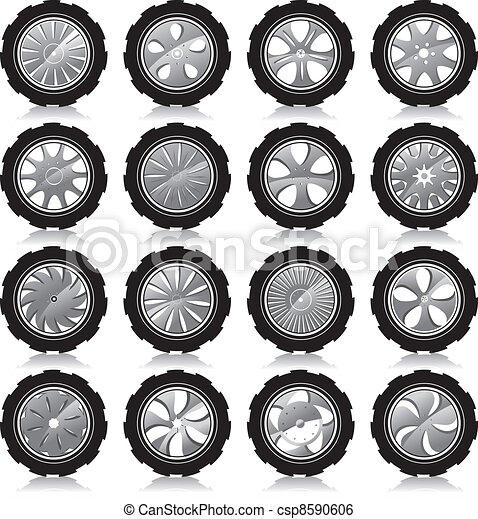 automotive wheel  - csp8590606