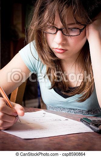 Student Struggling - csp8590864