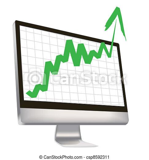economic boom - csp8592311