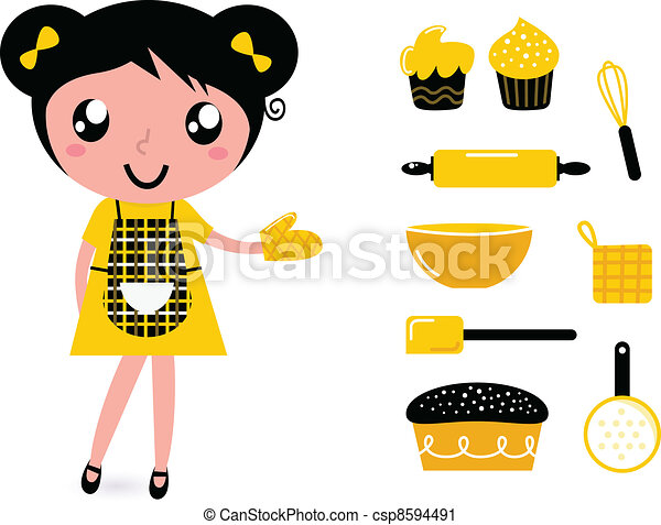 Home Baking Clipart