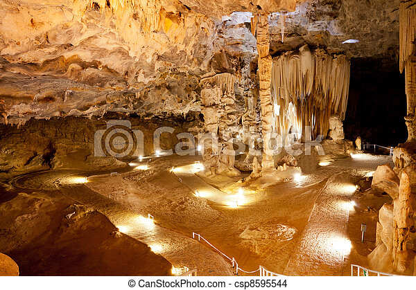 cango caves in Oudtshoorn, South Africa - csp8595544