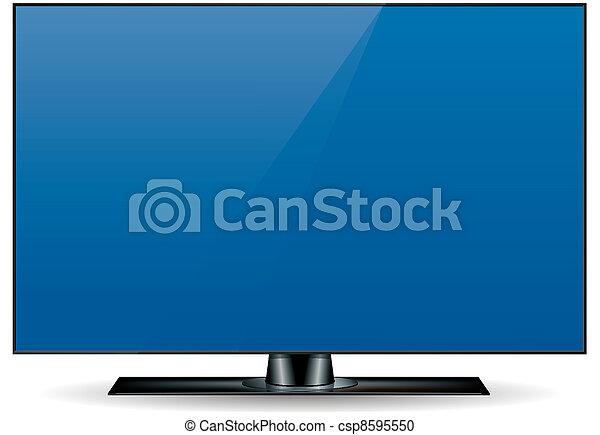 Edgeless HD Television Set - csp8595550