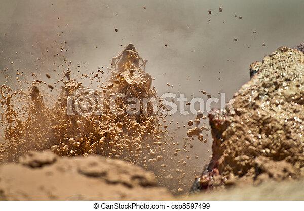 Mud Volcano - csp8597499