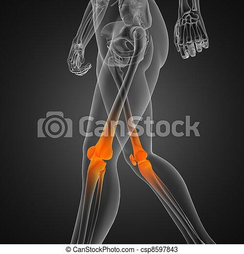 human radiography scan - csp8597843