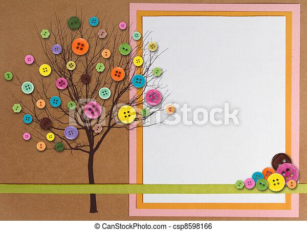 image de printemps temps arbre fait boutons copy space csp8598166 recherchez des. Black Bedroom Furniture Sets. Home Design Ideas