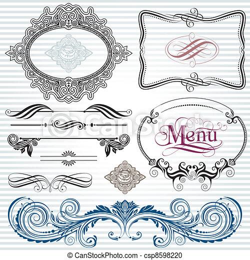 Decoration Elements - csp8598220
