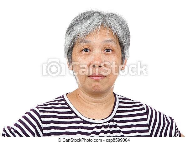 mature asia woman - csp8599004