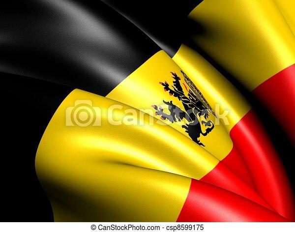 Government Ensign of Belgium - csp8599175