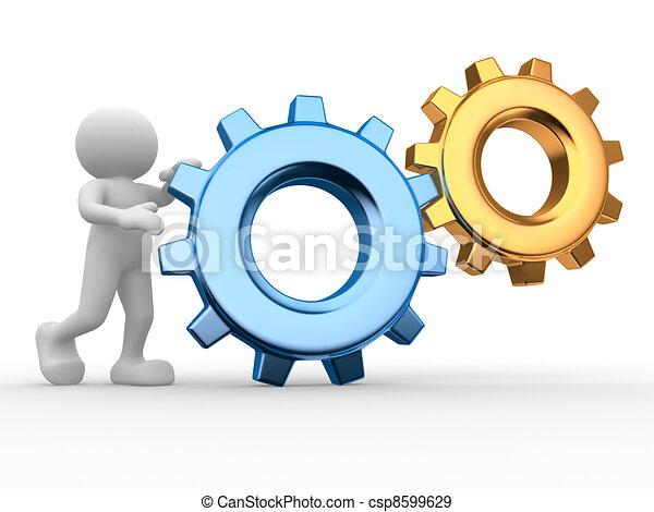 Gear mechanism - csp8599629