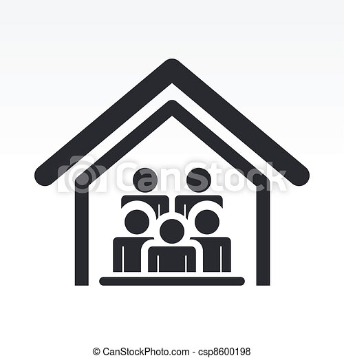 Vector of Vector illustration of guests house icon csp8600198 ...