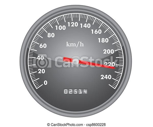 dashboard speedometer - csp8600228