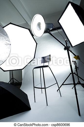 Photo studio - csp8600696